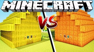 MELON HOUSE VS PUMPKIN HOUSE - Minecraft