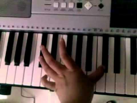 Piano tutorial: California (O.C Theme song) Phantom Planet