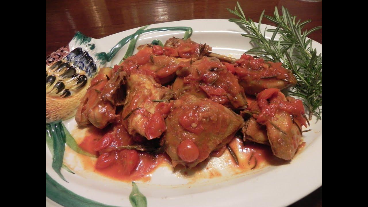 gallo in padella con pomodorini - youtube - Come Cucinare Il Gallo
