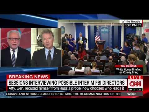 Rand Paul on Donald Trump Firing FBI James Comey