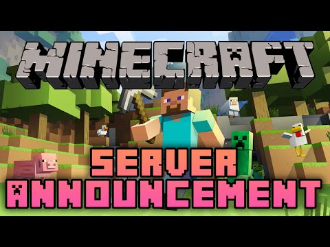 Come and Join our Free Public Minecraft Server!!
