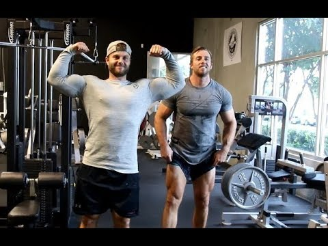 Bare Brother's Big Back Workout!