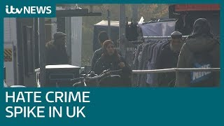 Religious hate crimes surge by 40% in past year | ITV News
