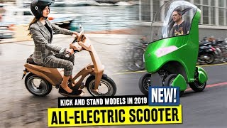 Top 7 Fun Electric Scooters and Commuting Vehicles w/ Unusual Design Choices