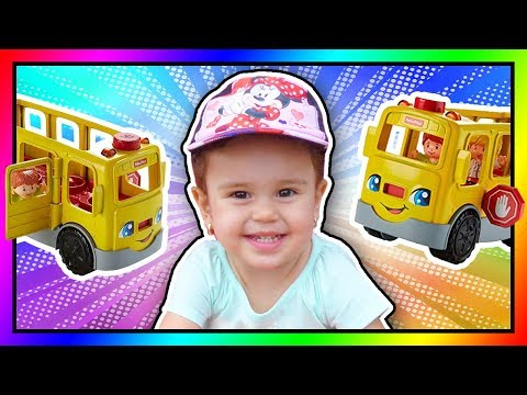 Wheels On The Bus With Fisher Price Little People School Bus