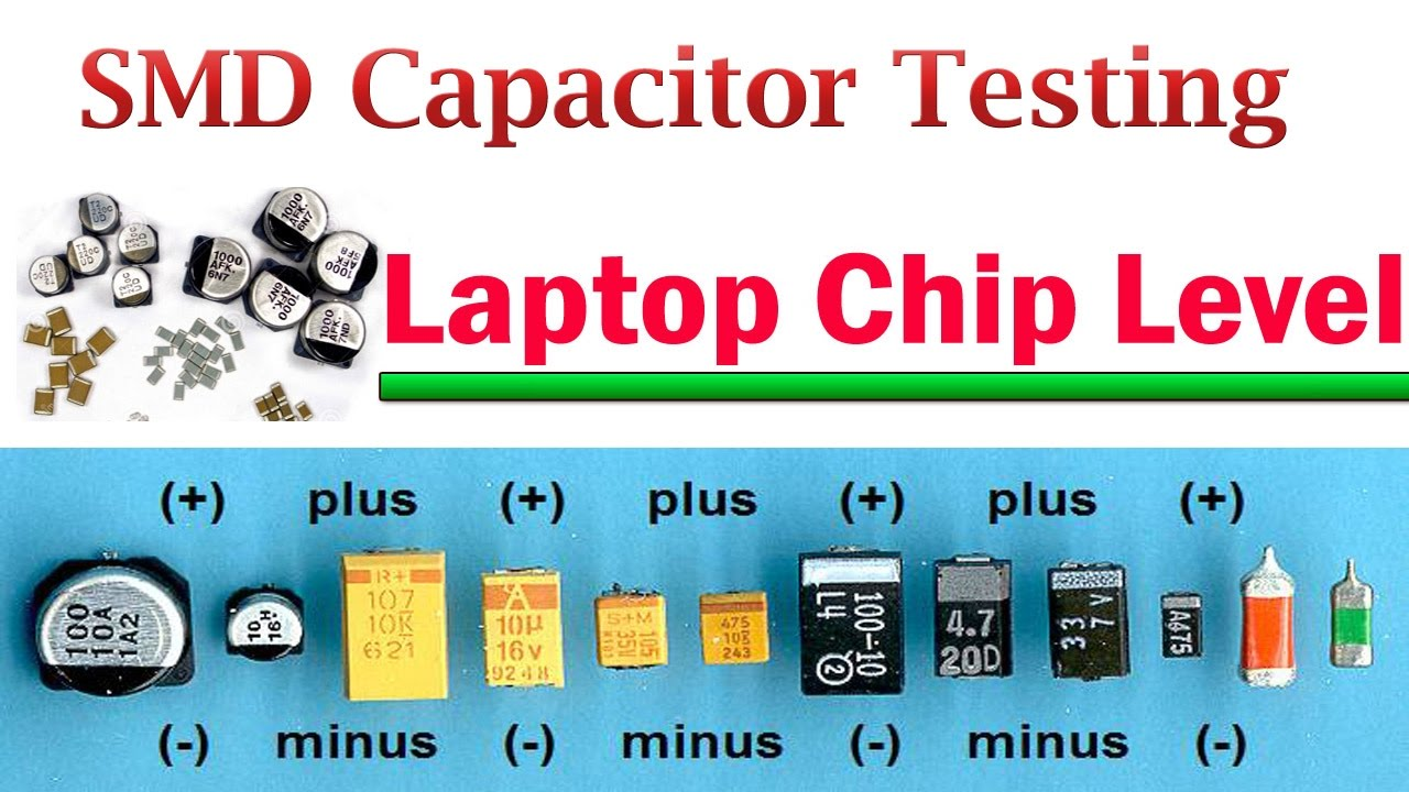 Smd Capacitor Testing Laptop Chip Level Youtube