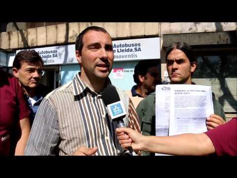 La concessionària Autobusos de Lleida reclama a la Paeria 837.474€
