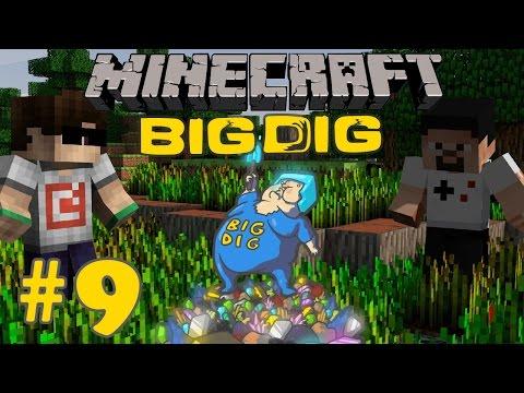 Minecraft: Big Dig #9 - SINIRSIZ ENERJİ!