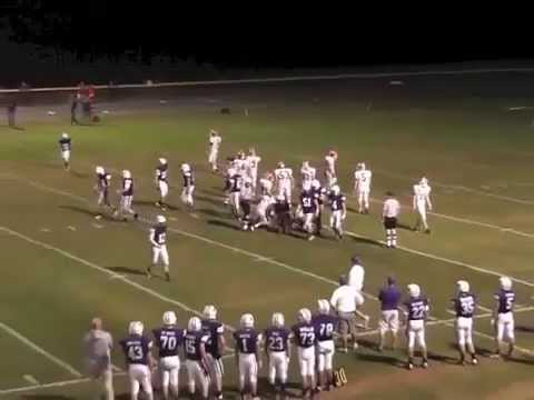 Ticonderoga - Saranac Lake Varsity Football  9-26-14