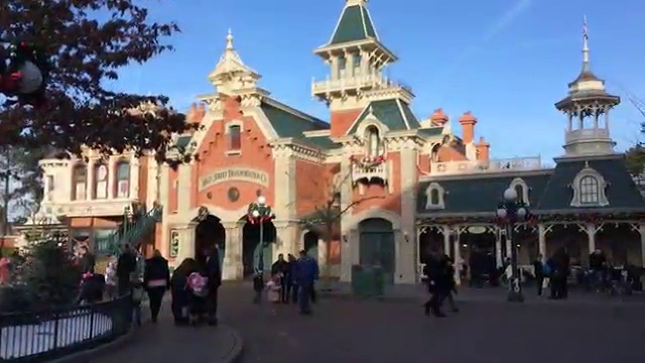 New Year's Eve 2016 in Disneyland Paris - Part 1 - YouTube