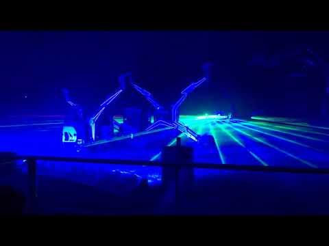 Bobcat laser show 2017