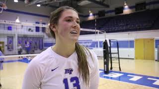@MT_Volleyball vs UAB Highlight