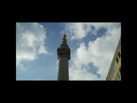 The Great Fire of London - Pudding Lane and the Monument (in HD)