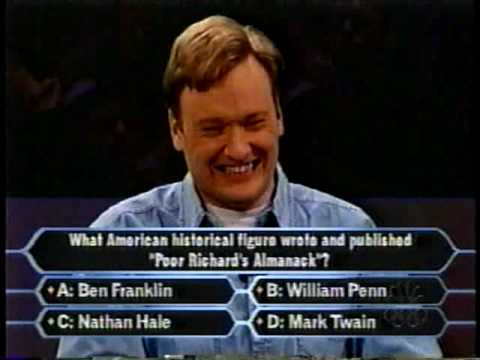 Conan and Andy on Game Shows 1999