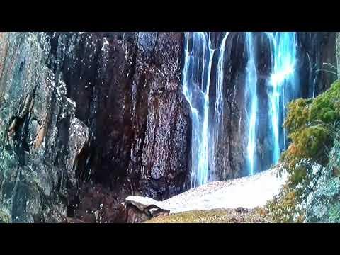 Релаксация. Природа. Водопад. Шум воды.