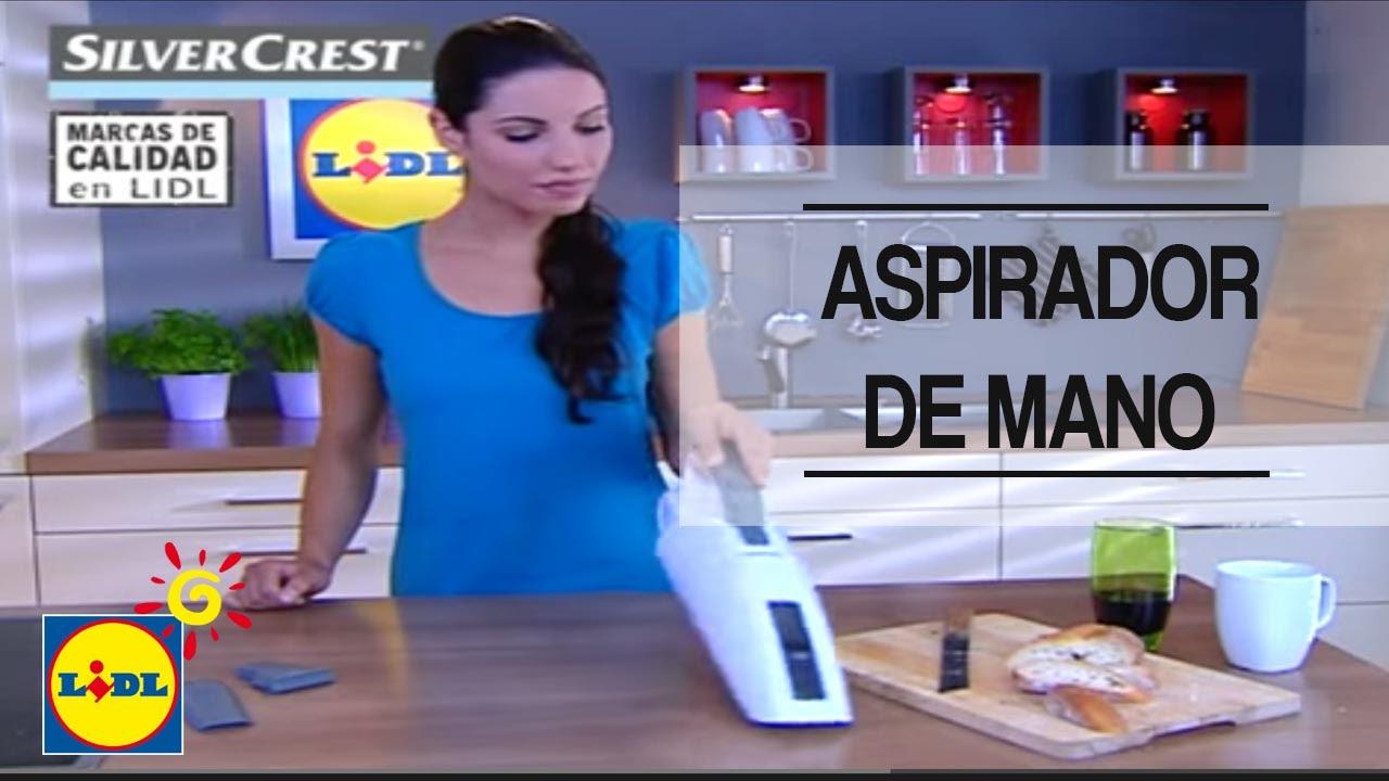 Aspirador De Mano Con Batería De Iones De Litio Lidl España Youtube