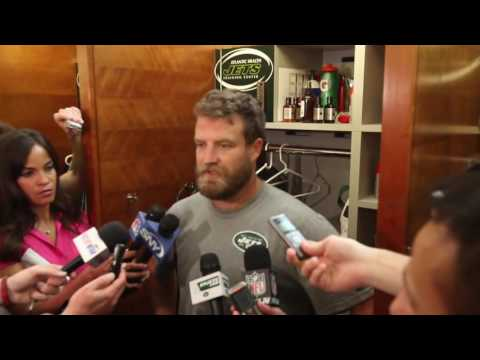 Jets Ryan Fitzpatrick, Geno Smith react to QB change