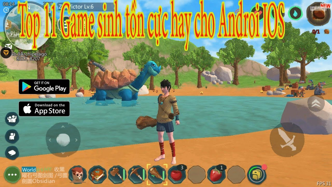 Top 11 Game sinh tồn xây dựng cho Android IOS