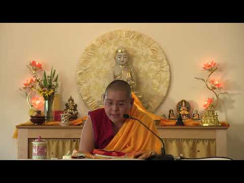 Mindfulness of the lama and compassion