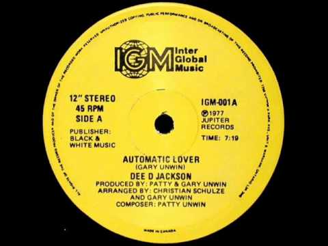 Dee D. Jackson - Automatic Lover - version long 1977
