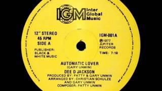 Dee D. Jackson - Automatic Lover - version long 1977