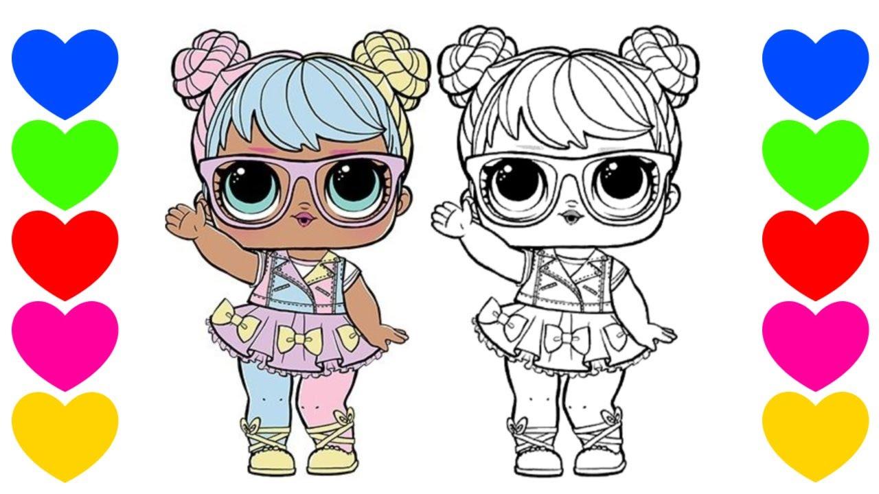 Pintar Desenho Da Lol Surprise Bon Bon Pintar Boneca Lol Surpresa Colorir Lol Coloring Lol Doll