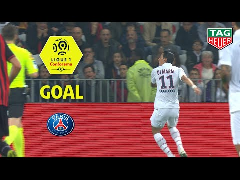 Goal Angel DI MARIA (21') / OGC Nice - Paris Saint-Germain (1-4) (OGCN-PARIS) / 2019-20