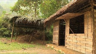 Primitive technology: Furnace (palm leaf roof hut) Part 1