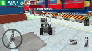 Cargo Crew Port Truck Driver ios & android gameplay #1