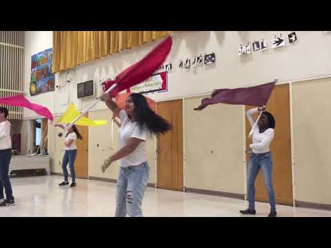 Hayward High School Colorguard Spring Concert