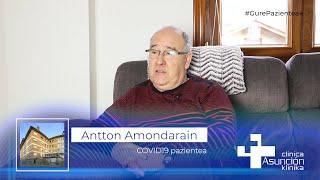 """Antton Amondarain: """"Handikeriarik gabe esan dezaket hobeto ez dagoela tratatzerik paziente bat"""""""