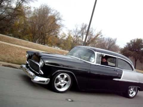 Have you ever dreamed about a MEAN '55 Chevy? Was this it?