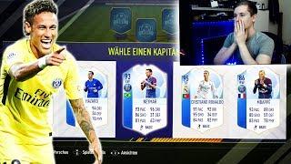 FIFA 18: TOTGS in a PACK! Krasses NEYMAR TOTGS FUT DRAFT! 🔥🔥 - Ultimate Team - Draft Pack Opening