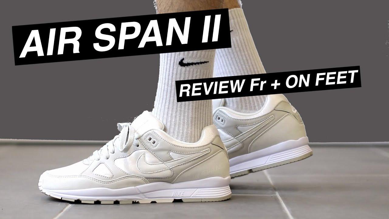 Nike Air Span II On Foot | HYPEBEAST