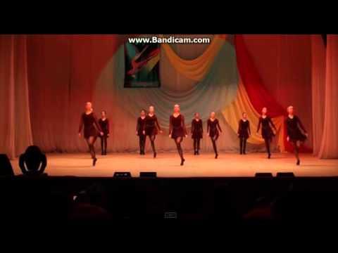 Девочки жгут!Ирландский танец в 11 лет