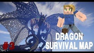 Dragon Survival Ep.3 - La quête de l'eau! - Map Minecraft