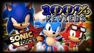 100% Reviews - Sonic Forces (PS4 & Switch) Ft. JustJesss
