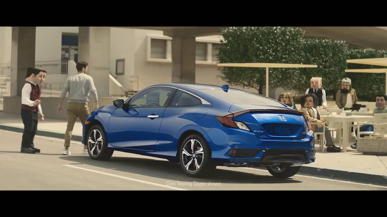 2016 Honda Civic Coupe Commercial Skate Park