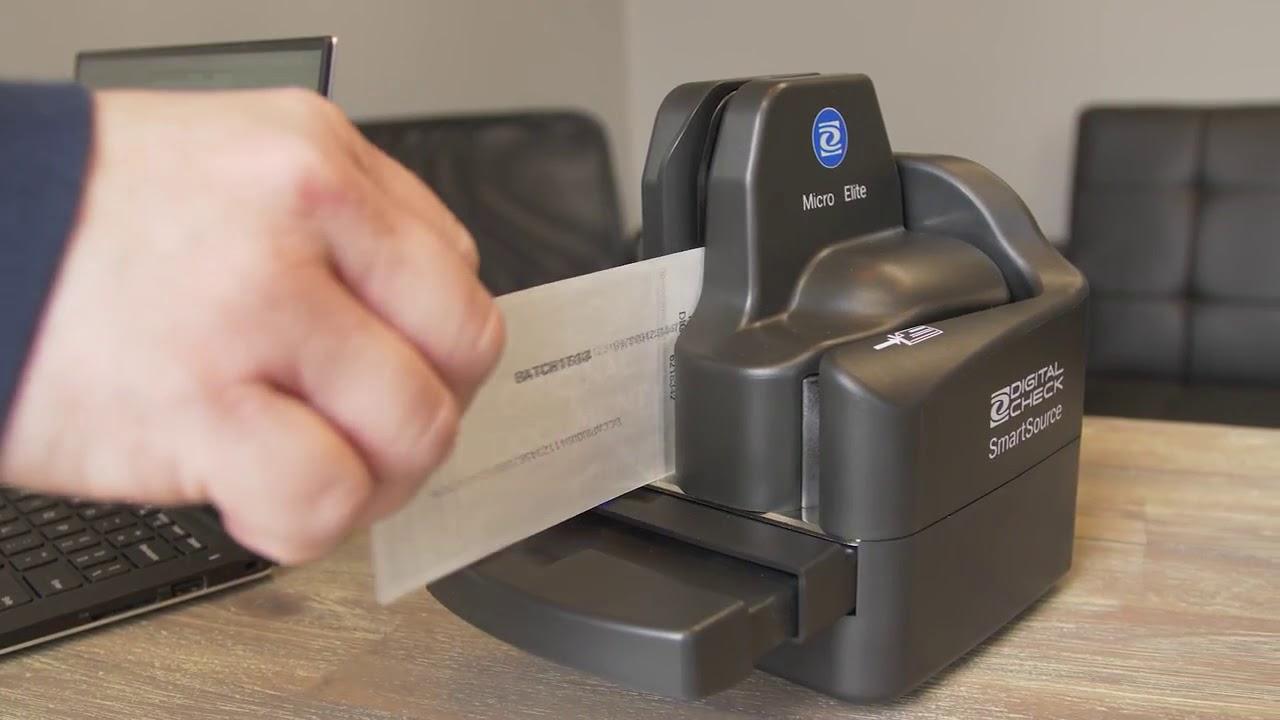 SmartSource® Micro Elite – Remote Deposit Check Scanner