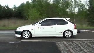 Honda EG,CRX,EJ9,EK9 / B16 - B20 - K20 DOHC VTEC Sound Battle!