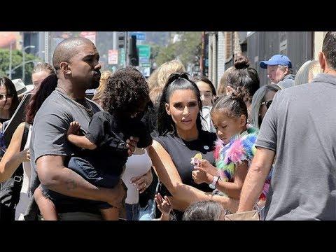Kim Kardashian & Kanye West Enjoy 'Morning Madness' Breakfast With Their 4 Kids In Cute Photo