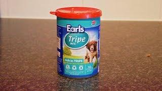 Aldi UK Earls Tripe Mix Tinned Dog Meat/Food REVIEW & Dog Tasting 🐶