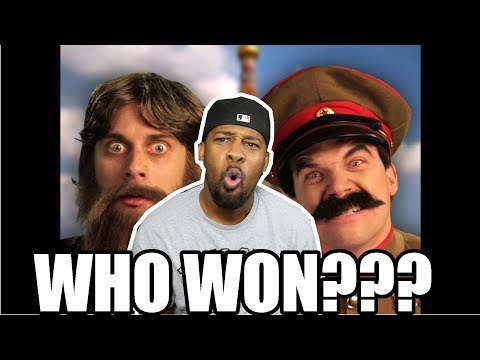 [-reaction-]-rasputin-vs-stalin-epic-rap-battles-of-history-&-behind-the-scenes