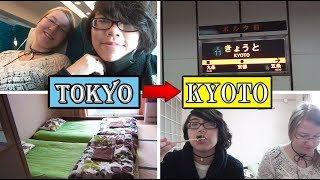 Gambar cover [VLOG] From TOKYO to KYOTO | Japanese Apartment - AirBnB | Dinner Conversations