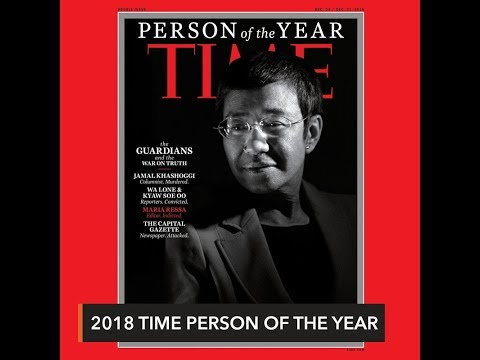Maria Ressa, other journalists named Time 'Person of the Year'