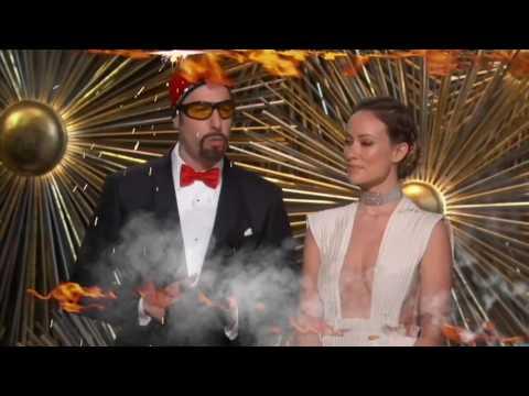 OSCARS 2016 - Olivia Wilde & Ali G Hilarious Racism Speech!(Remix)