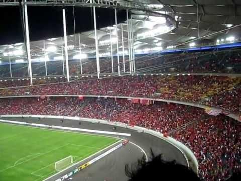 You'll Never Walk Alone Live At Stadium Bukit Jalil Malaysia~ Liverpool FC Asia Tour 2011