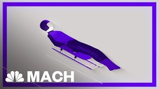 Sliding Down At 90 MPH: The Science Behind The Fastest Sport On Ice   Mach   NBC News