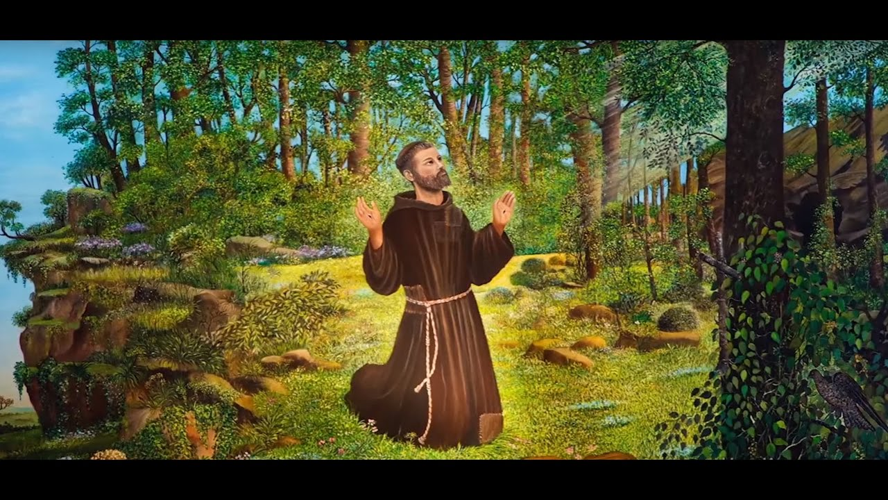 St Francis Of Assisi Go And Rebuild My Church Hd Youtube