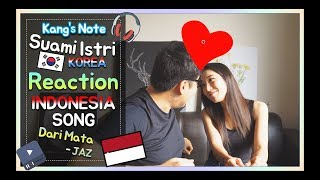 Video Reaksi KANG & NURI dengerin lagu Dari Mata - JAZ download MP3, 3GP, MP4, WEBM, AVI, FLV Juli 2018